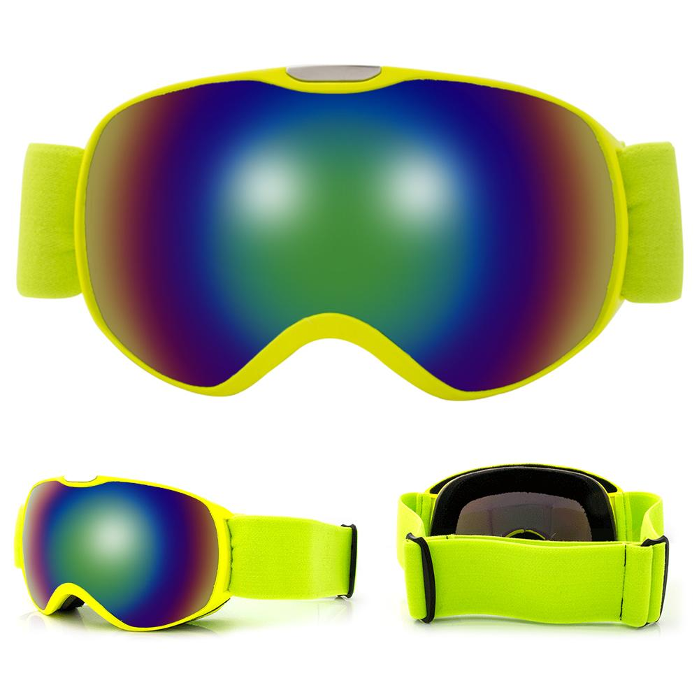 d20c0c6eeb7 Anti-fog Spherical Dual Lens Ski Goggles Skiing Snowboard Goggles Children  Ski Outdoor Sports for Kids Skiing Eyewear Cheap Skiing Eyewear Anti Fog ...