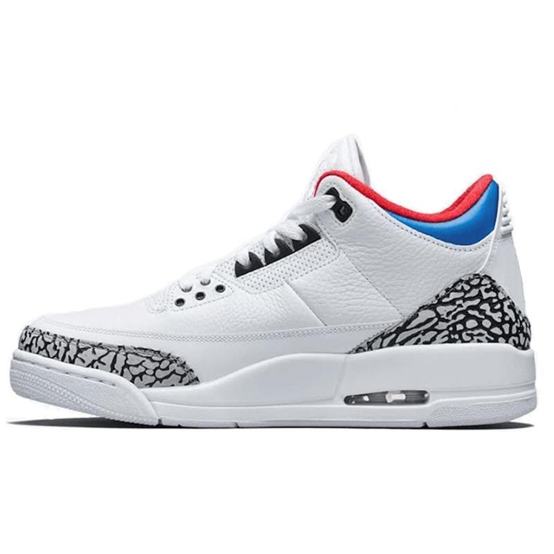 b6988de40cd 3 Men Basketball Shoes Charity Game Black White Cement Cyber Monday ...