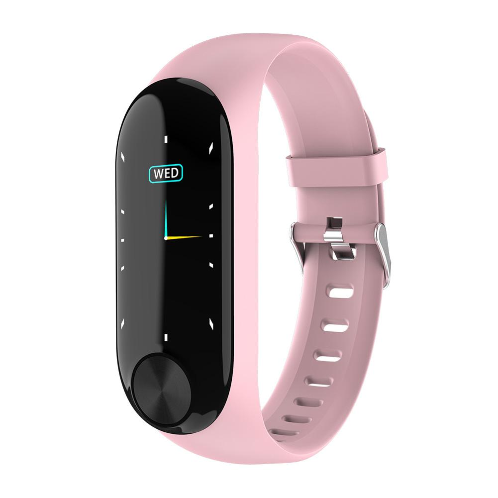 0.96inch Fitness Tracker LCD Long Standby Health Care Bluetooth Waterproof Adjustable Strap Step Count Sport Smart Bracelet