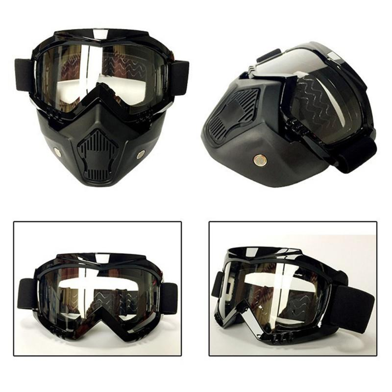 a4d4a73de3ec Newest Windshield Riding Mask CG06 Harley Off-road Dual-use Goggles ...