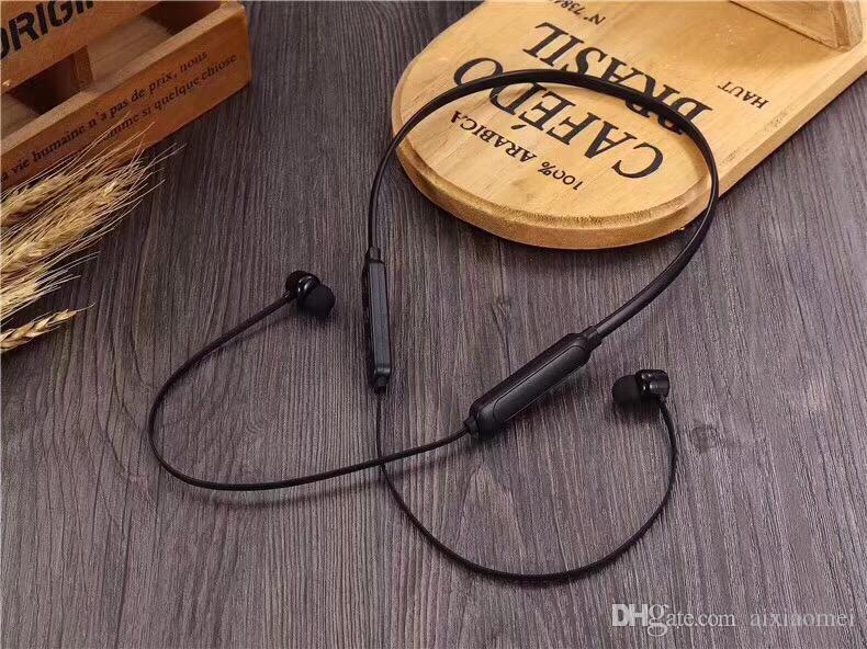 2019 neue kopfhörer b-t x drahtlose bluetooth kopfhörer für samsung iphone sport ohrhörer in ohrbügel ohrhörer