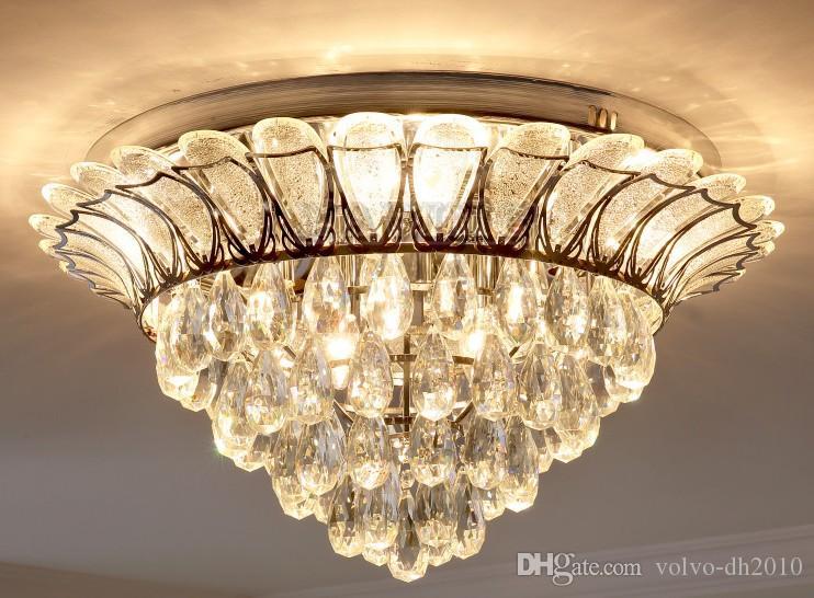 Lampadari Da Cucina Soggiorno : Acquista moderno lotus k lampadario di cristallo di illuminazione
