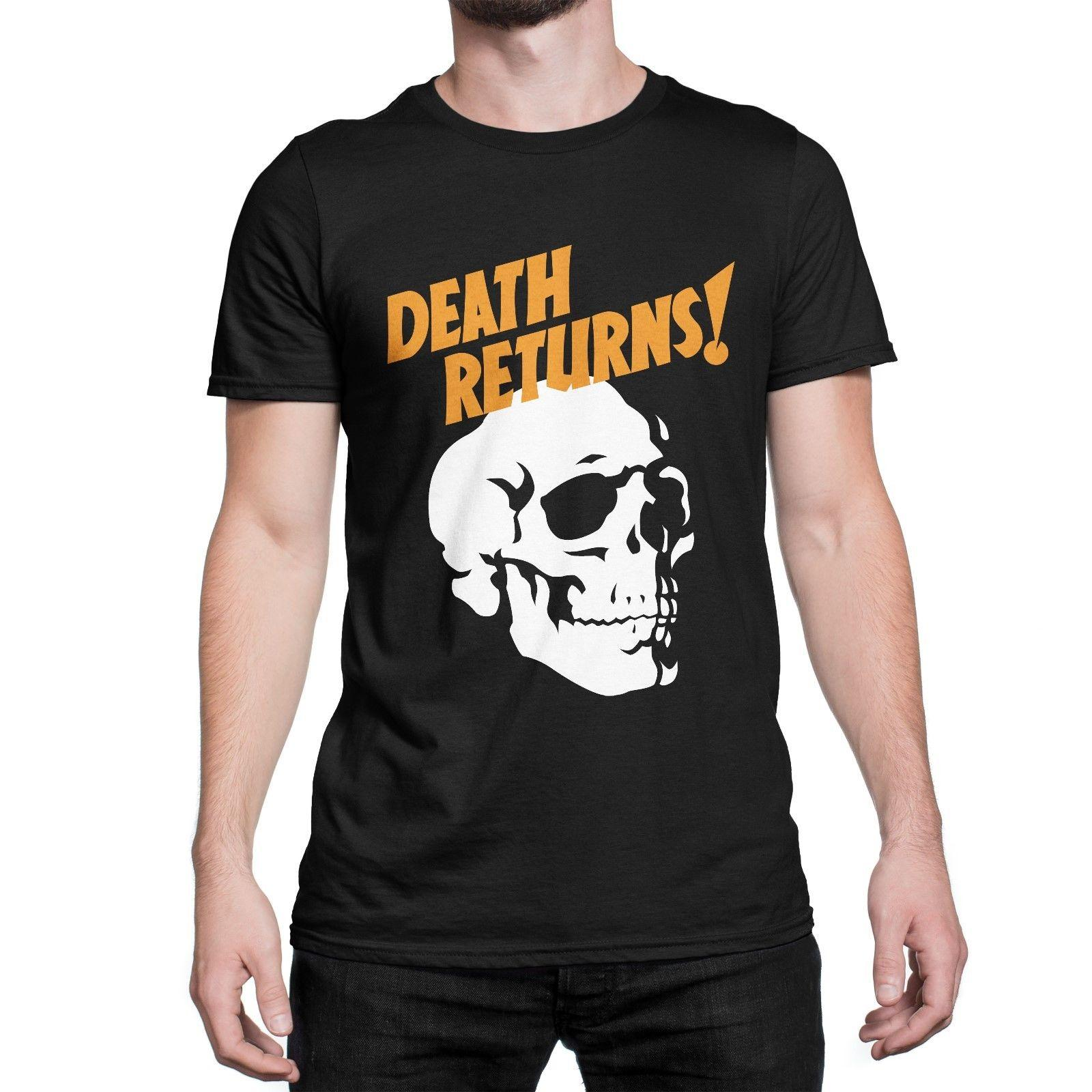 Fear What You Wear Death Returns 2 Sided Men S T Shirt Glow In The