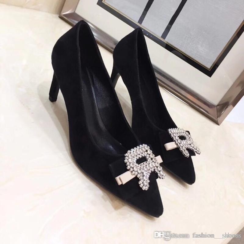 79c280a801 Compre Diseñador 2019 Tacones Para Mujer Zapatos Diapositivas De Diseño  Zapatos Para Mujer Nuevo 2018 Retros Superstar Mocasines Diseñador De Lujo  Marca ...