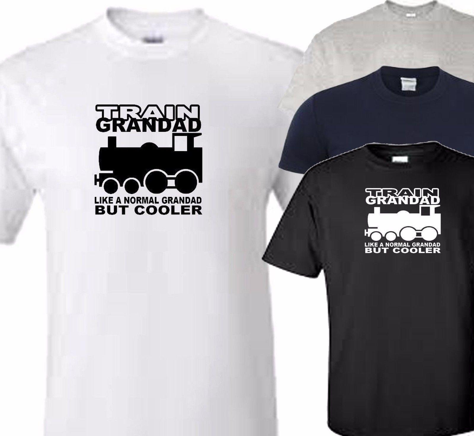 62a6e795 Train Grandad T Shirt Funny Unisex Casual Awesome T Shirt Design Shirt And  Tshirt From Pickapair, $12.96| DHgate.Com