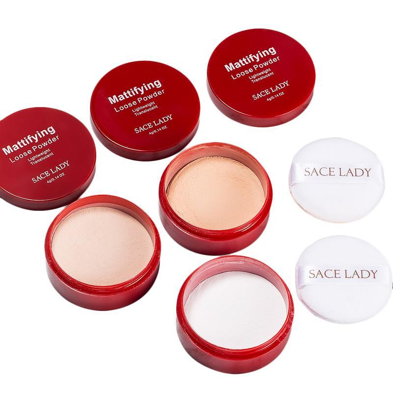 Wholesale Factory DHL Baby Face Smooth Loose Setting Powder Transparent Finishing Body Make Up Waterproof Long Last Natural Makeup Cosmetic