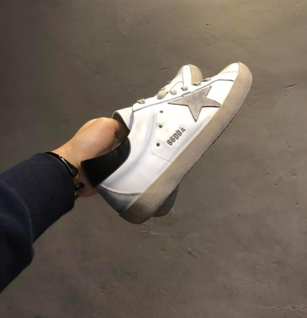 ffbf05483d buy shoes online Golden Goose Ggdb Scarpe di lusso Genuine Leather Villous  Dermis old skool Women Luxury Superstar Trainer 35-40
