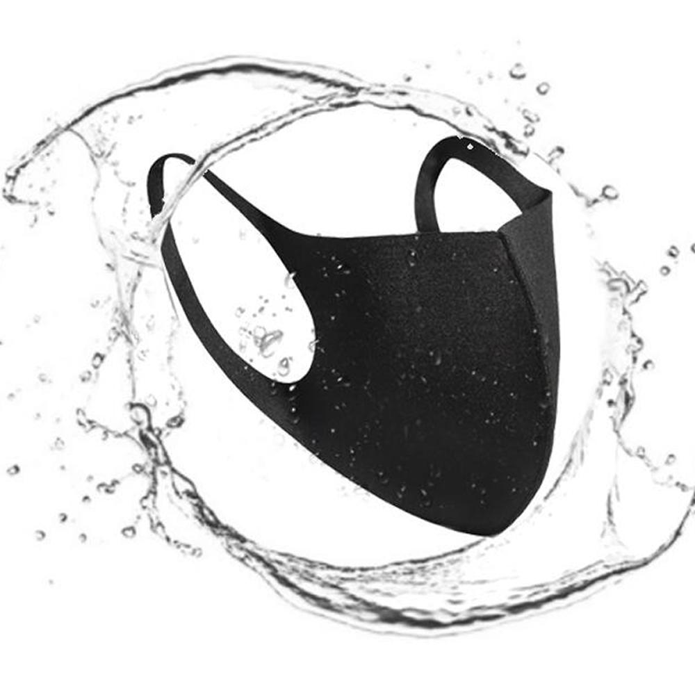 Máscara boca Ice Anti face Poeira Capa PM2.5 Respirador Dustproof Anti-bacterianas Máscaras lavável reutilizável Ice Silk algodão Adulto Criança Em armazém