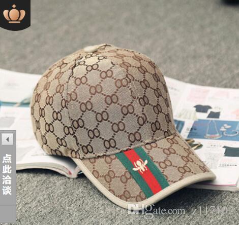 Designer Mens Baseball Caps New Brand Tiger Head Hats Gold ... ca07cb81f515