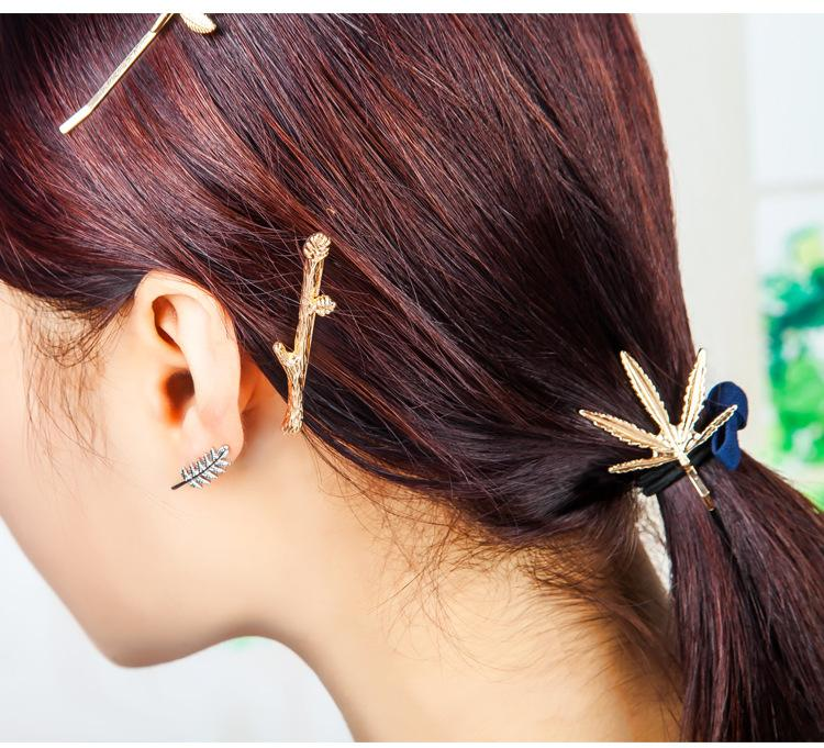 Shopee top selling 2019 yiwu factory korean hair clip new design metal hair clip cheap giveaways