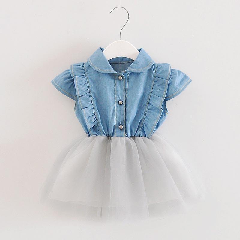c292895c6d9 Großhandel Gute Qualität Sommer Kleidung Kleid Baby Mädchen Kleid Mode  Baumwolle Solide Spitze Süße Mädchen Kleider Hochzeit Kleid Für 0 4 T Von  Victorys03