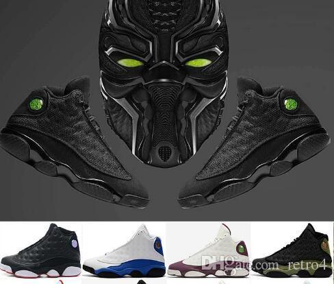c657244cdc5 2019 Mens 13 13s Basketball Shoes Black Cat DMP He Got Game Playoffs ...