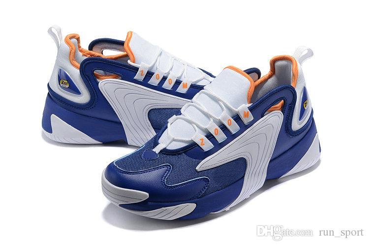 timeless design 153e7 13b3d Acheter M2k Tekno Zoom 2K Hommes Chaussures De Basketball 2000 Triple S Noir  Voile Blanc Orange Marine De Bonne Qualité Designer Sport Chaussures  Entraîneur ...