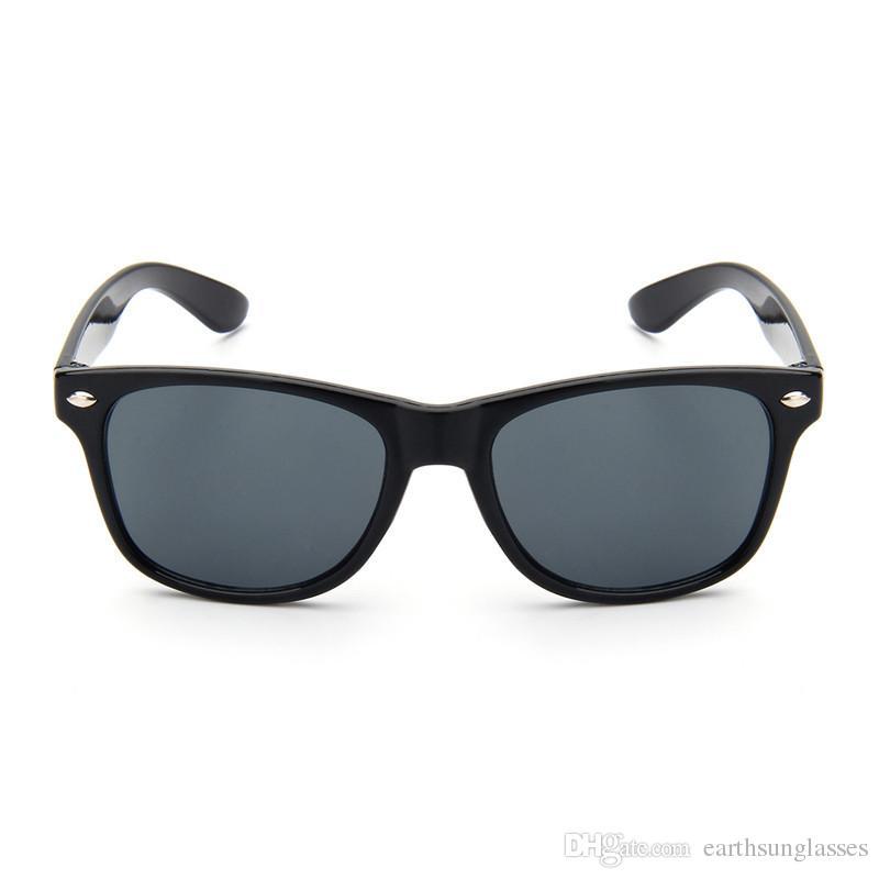 Mujer Corte Uv400 Nueva Para Sol Luz Sin Rayban De Decorativas Marco Gafas Cristal Superior Color Moda Rb2140 Lente Calidad drCoexB