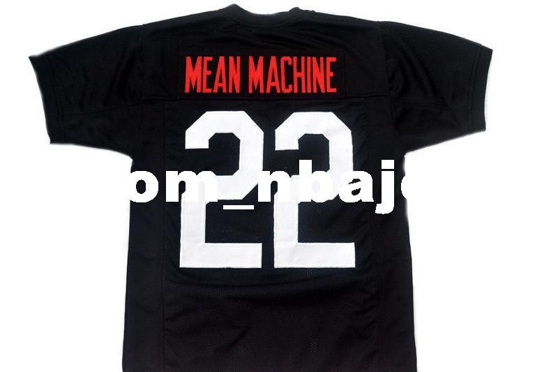 825f3a95376 2019 Wholesale Mean Machine #22 Longest Yard New Football Jersey Black  Stitched Custom Any Number Name MEN WOMEN YOUTH Football JERSEY From  Custom_nbajersey ...