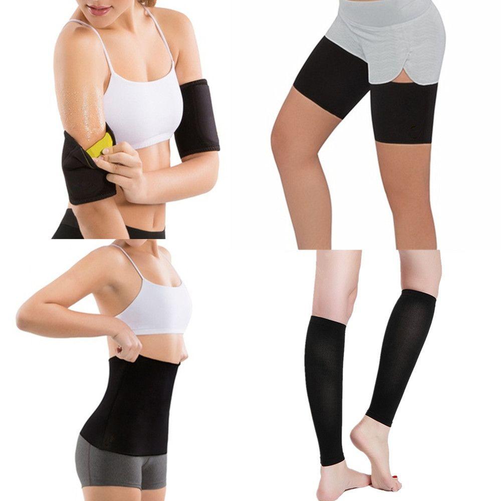 ddcf006c0215b 2019 Black Waist Trainer Corsets Belt Hot Body Shaper Women Shapewear  Slimming Thigh Belt Sauna Leg Sweating Weight Loss Arms Fitness From  Ferdinand07