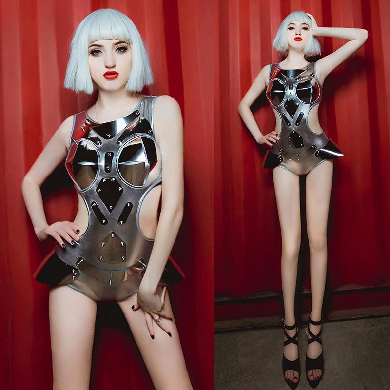 925e010e1 2019 Night Bar Ds Costumes New Sexy Dj Nightclub Female Singer Party Dance  Costume Performance Costume Gogo Rave Outfit Beyonce 2018 From Junxcj, ...