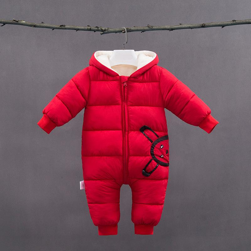f5ca2e2cdef4 Good Quality Newborn Baby Rompers Winter Infant Boys Cotton Thicken ...