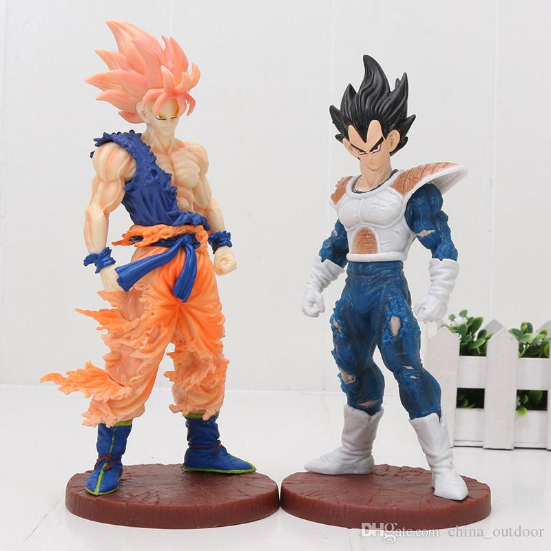 Toys & Hobbies Anime 17cm Dragon Ball Z Action Figures Son Goku Super Saiyan Gohan Vegeta Dxf Anime Dragonball Kai Figures Model Toys Dbz Gift Grade Products According To Quality