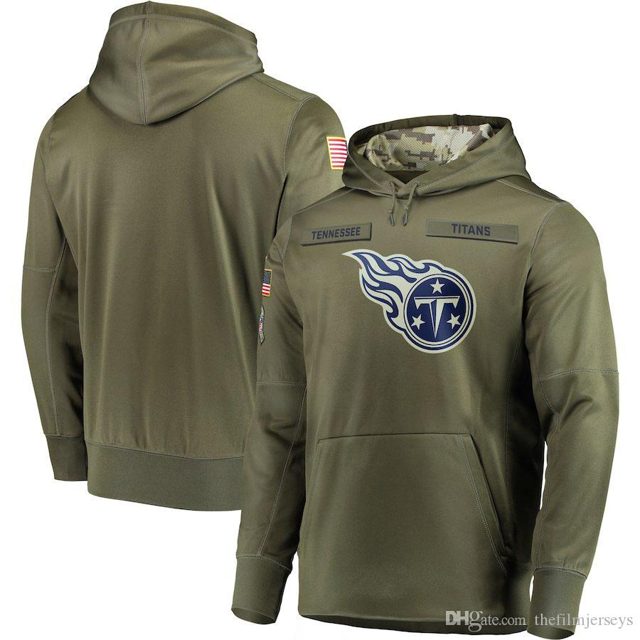 9463545e3 2019 2018 Men Tennessee Sweatshirt Titans Salute To Service Sideline Therma  Performance Pullover Hoodie Olive From Thefilmjerseys, $31.48 | DHgate.Com