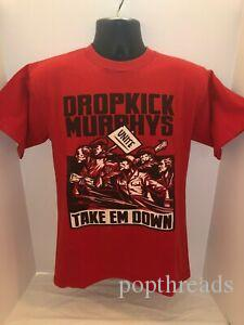 Arriva Take 039 in Down Labor Protest Union Made Red T Shirt Mens MED