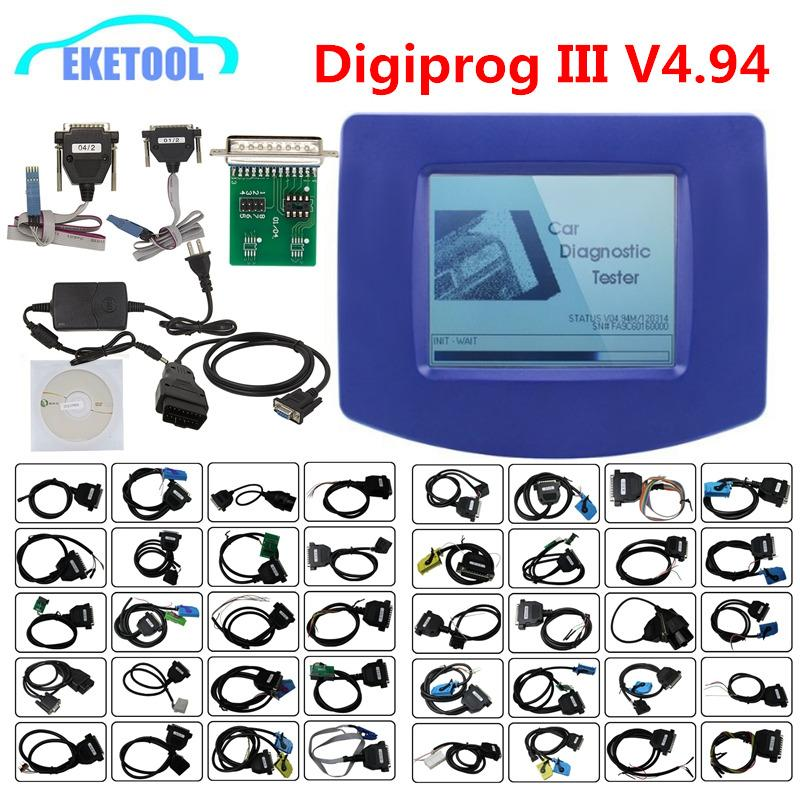 Vendidos Digiprog3 V4.94 Professional Mileage Correction suporta multi Marca Carros Digiprog III Multi Language Digiprog 3