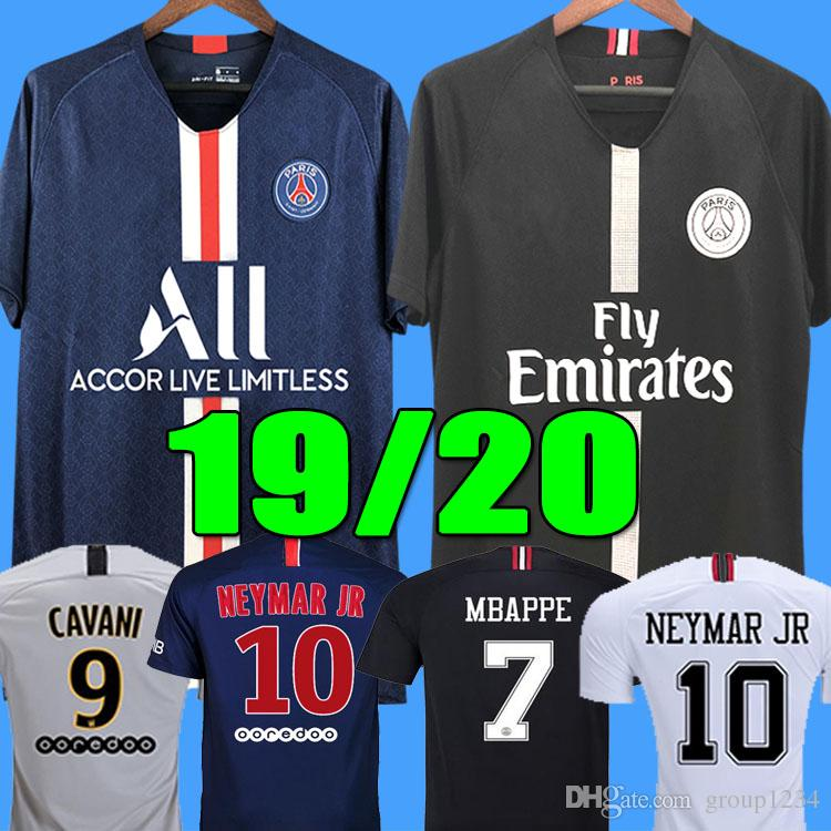 5fb4eb4e2b4 2019 2019 2020 PSG Third Maillot MBAPPE Soccer Jersey CAVANI VERRATTI Top  Thailand 18 19 20 Paris Football Shirt KIMPEMBE Camiseta De Futbol From  Group1234, ...