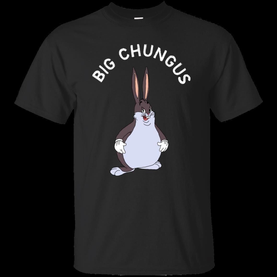 Black T Shirt Big Chungus Meme T Shirt For Men Size S 6xl Funny