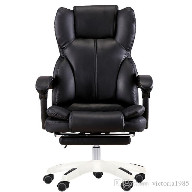 Hot Sell High Quality Office Boss Chair Black Household Armchair