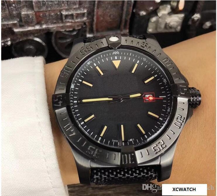 8918b8bdd541 Compre Venta Al Por Mayor Luxury AAA Men039  S Avenger II Black Bird Watch  Acero Inoxidable 8213 Automático Mecánico Para Hombre Reloj Para Hombre A   67.0 ...