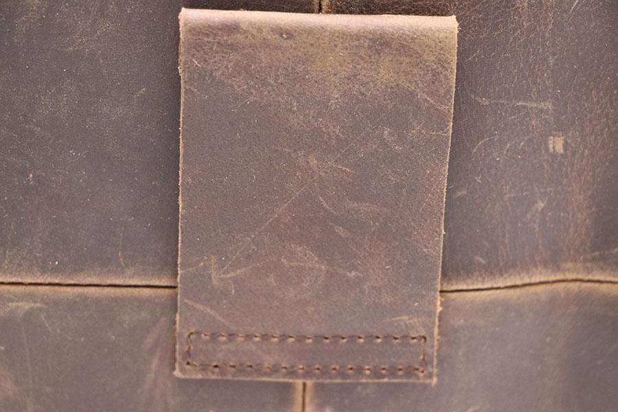 Hakiki Deri 7 'Cep / Cep Telefonu Cüzdan Yumruk Vaka erkek Çapraz Vücut Omuz Çantası Erkek Dana Messenger Çanta Bel Kemeri Paketi