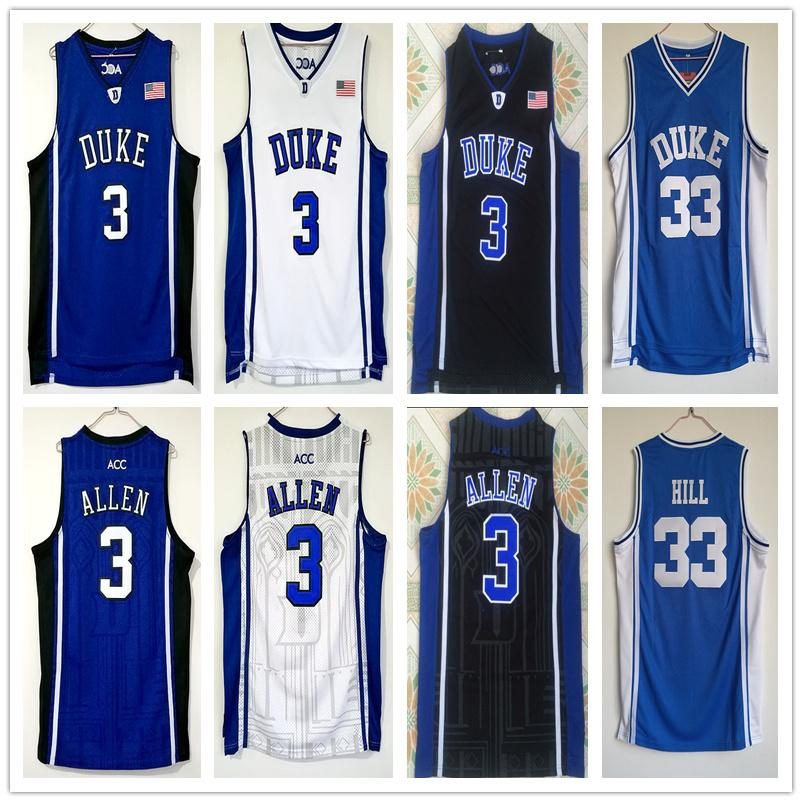 buy online 628da 37a08 Mens Grayson Allen Jersey Duke Blue Devil Grant Hill College High Quality  Stitched Basketball Jerseys Size S-XXL