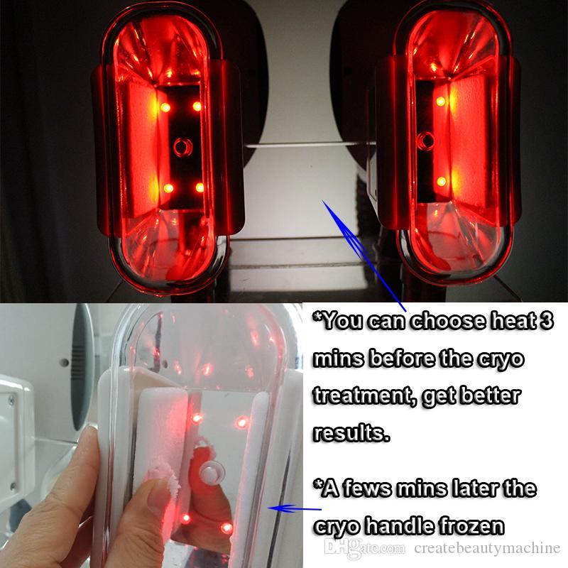 CE-Zulassung Kryolipolyse Fett Einfrieren Abnehmen Maschine 4 Griffe verlieren Gewicht Ausrüstung 4 Griffe können zusammenarbeiten
