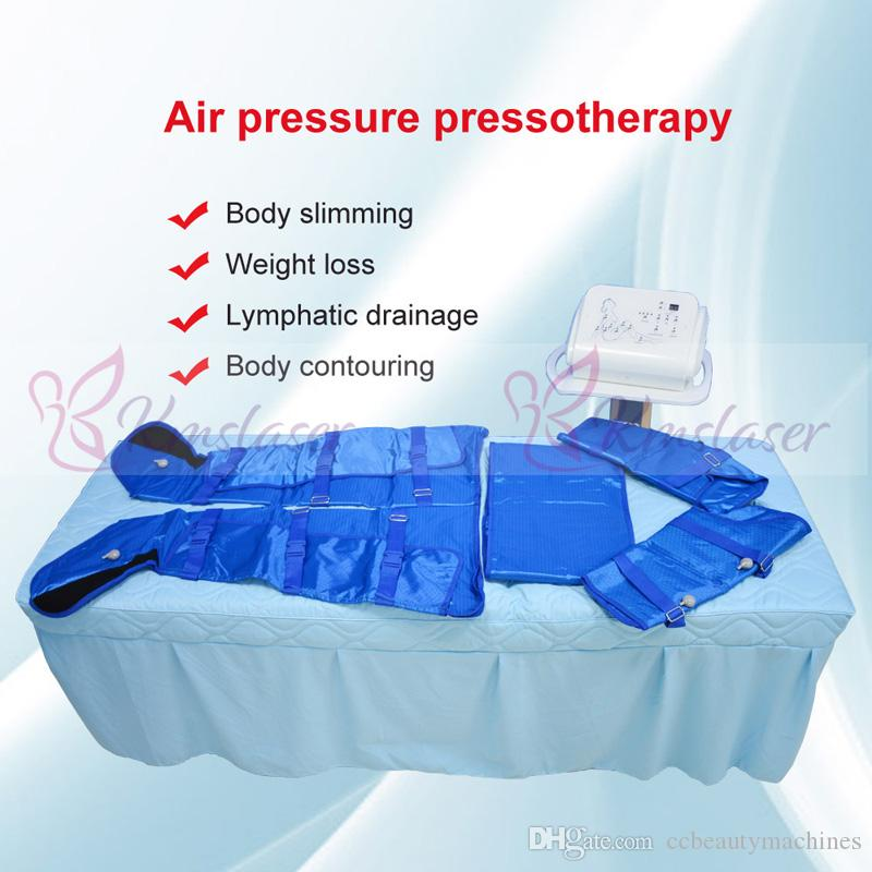 Air pressure pressotherapy lymphatic drainage body slimming weight loss spa salon home use beauty machine