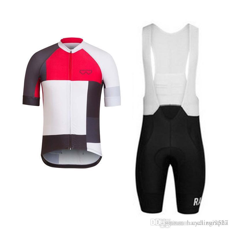 Rapha cycling jersey set spain MTB Pro team summer short sleeve Racing Bike Clothing Maillot Ropa Ciclismo Hombre Bicicleta