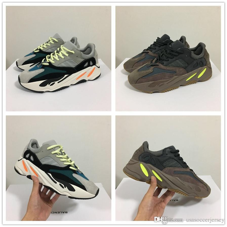 827c13be63c3f 2019 With Box 700 Wave Runner Mauve EE9614 B75571 Running Shoes Men ...