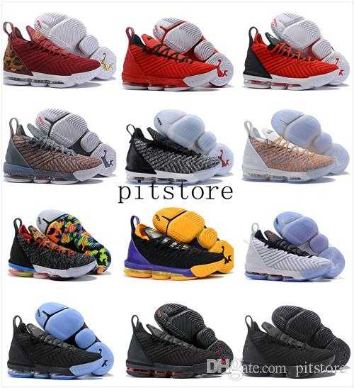 huge discount fe8dd 15bba 2019 Lebron 16 Mens Basketball Shoes Black Red James 16 XVI Legit Cheap Trainers  Sports Designer Sneakers Outlet From Pitstore,  100.51   DHgate.Com