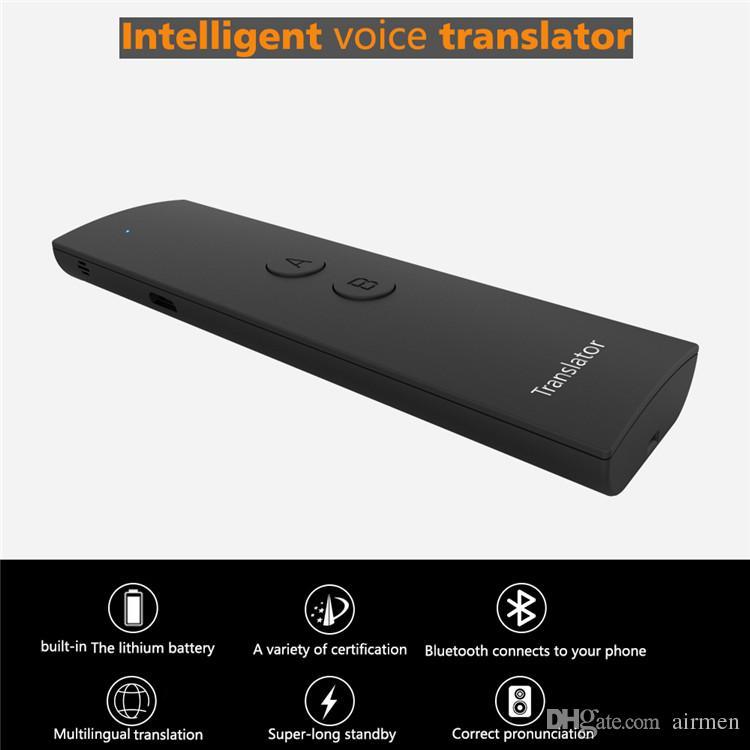 Nuovo traduttore vocale intelligente T6 traduzione bidirezionale in tempo reale 30 multilingue l'apprendimento di un meeting aziendale itinerante