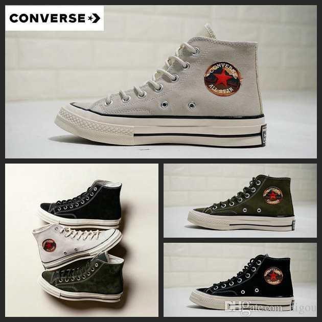 2019 Taylor 70 All Star Hi Suede Converse Canvas Chuck Shoe Chaussures Men  Women Running Skateboard Designer Casual Sneakers 35 44 Mens Loafers Buy  Shoes ... 4acf53786