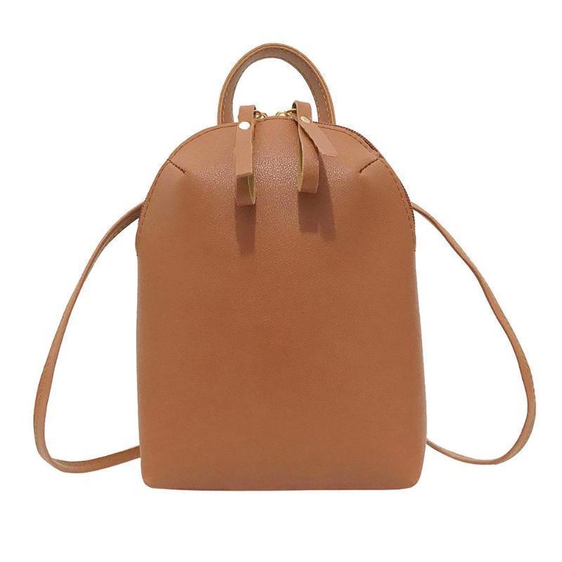 Cheap Women PU Leather Handbag Sling Crossbody Bag Casual Girl Mini Shoulder  Bags Woman Tote Vintage Crossbody Bag Ladies Handbags Leather Handbags From  ... 92ac49195a4e7