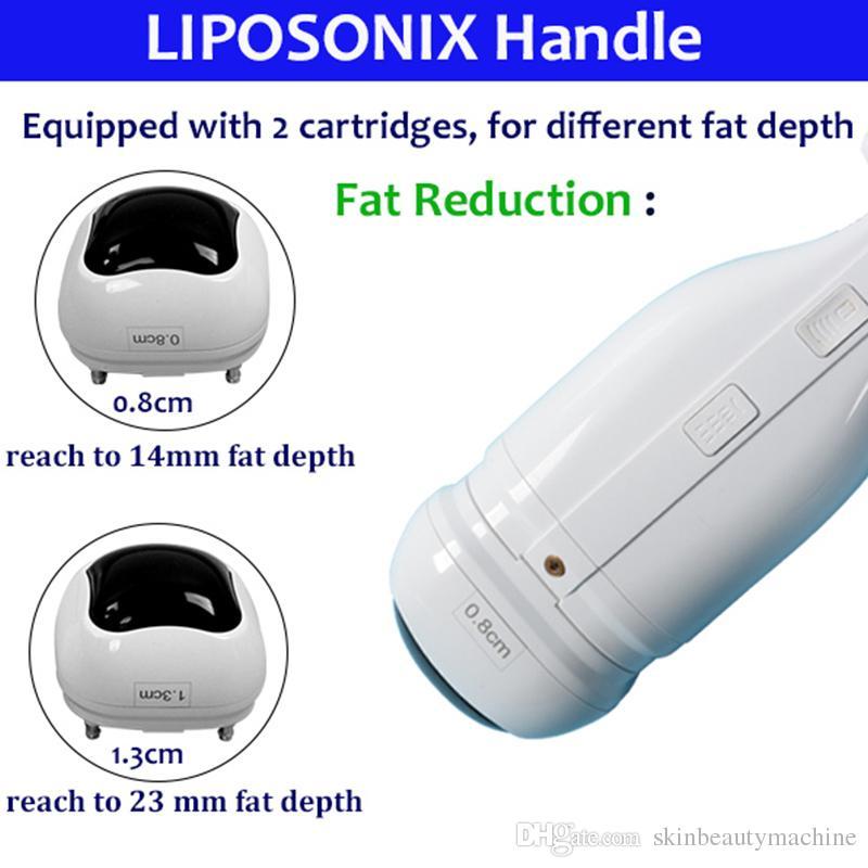 2021 nuovo corpo liposonix body snellente macchina lipo rimozione grasso riduzione della cellulite riduzione liposonici dispositivi di trattamento del corpo di contorno