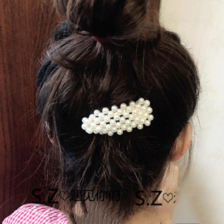 Bobby Pin Exceed Lightning Rhinestone Hairpin Hair Decorate Manual