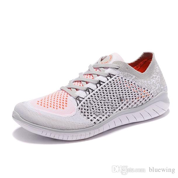 4b1a15cf4 2019 Free Rn 5.0 Men Women Running Shoes Knit 5 Top Quality Outdoor Jogging  Sneaker Size 5.5 11 Shoes Men Tennis Shoes From Bluewing