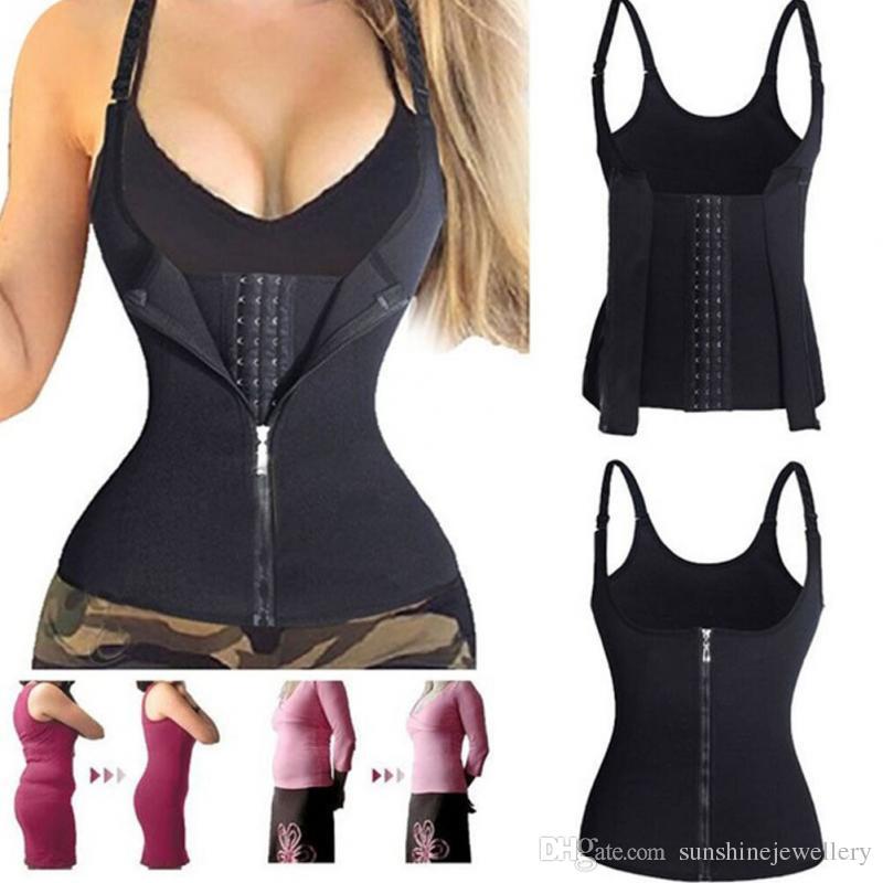 f784aa56c8f 2019 New Women Fashion Corset Waist Trainer Cincher Control Body ...
