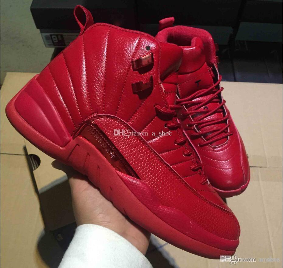 size 40 0a3a1 e585d Free Shipping Retro Gym Red Mens Shoes 12s 12 Gym Red Shoes Retros us size  7-13 come with box