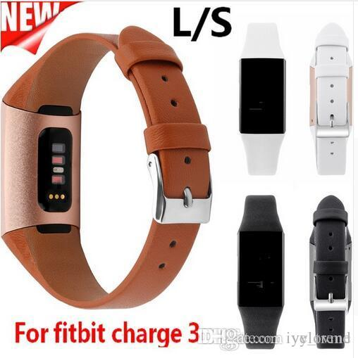 Genuine Leather Strap For Fitbit Charge 3 Band Straps Replacement Watchband  Bracelet for Fitbit Charge 3 Smart Watch Belt