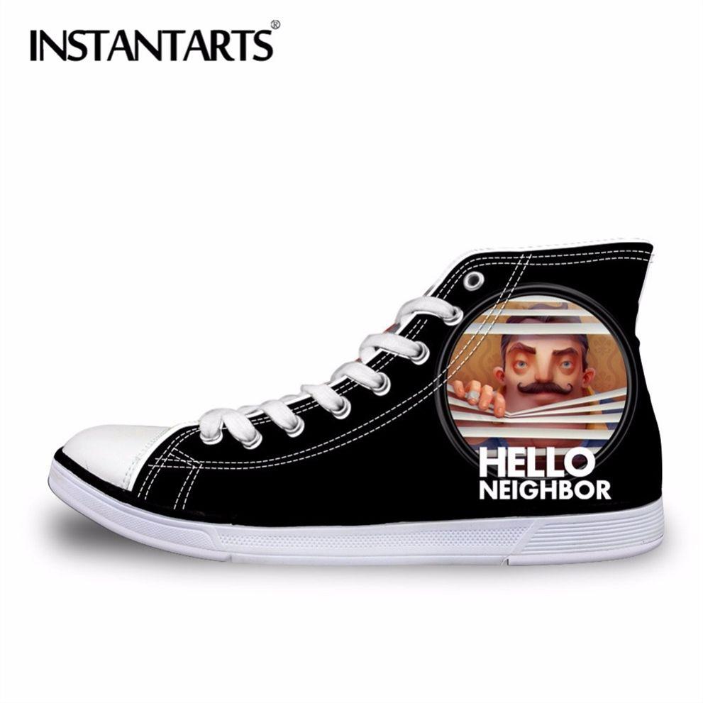 fefe34e12 Compre INSTANTARTS Moda Outono Sapatos Masculinos Homens Clássicos ...