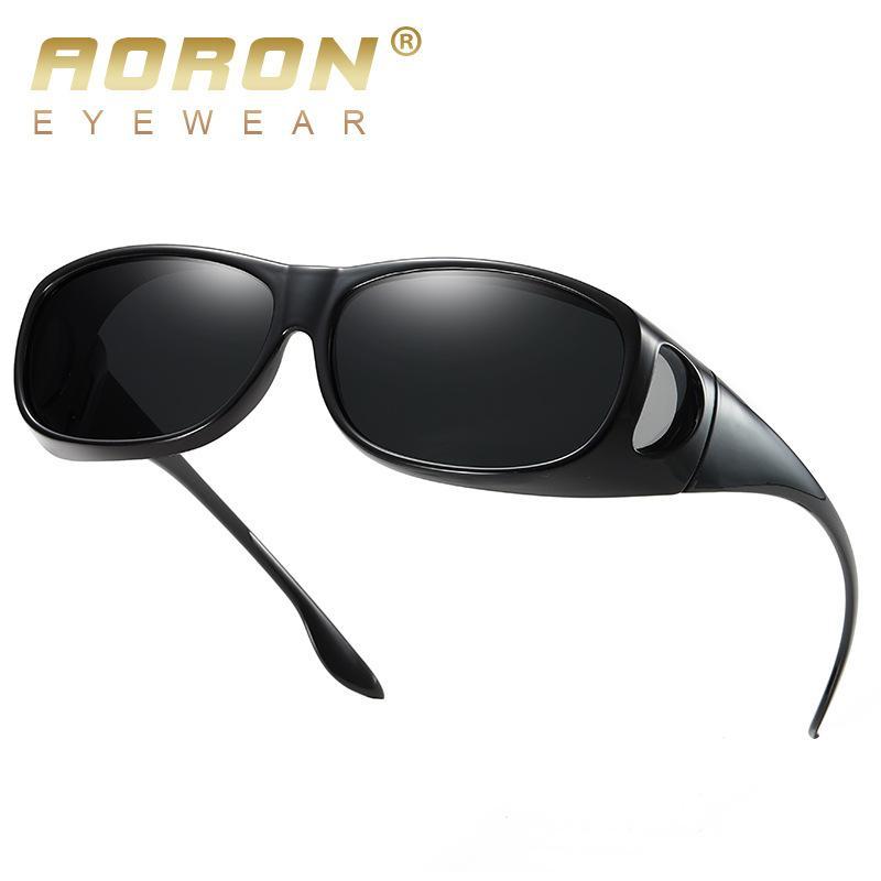 072688381f Compre AORON Diseño De Marca Gafas De Sol Polarizadas Hombres TR90 Gafas De  Sol Gafas De Conducción Masculina Gafas UV400 Gafas De Visión Nocturna A  $42.99 ...