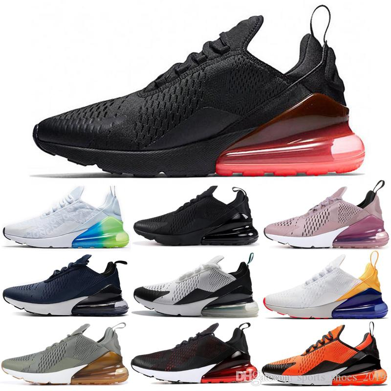Nike Air Max 270 Shoes scarpe da corsa nuove CNY Mowabb Clay Green Ocean Bliss Coral Stardust Navy BARELY ROSE Donne Mens Trainer Sport Outdoor Sneakers 36-45