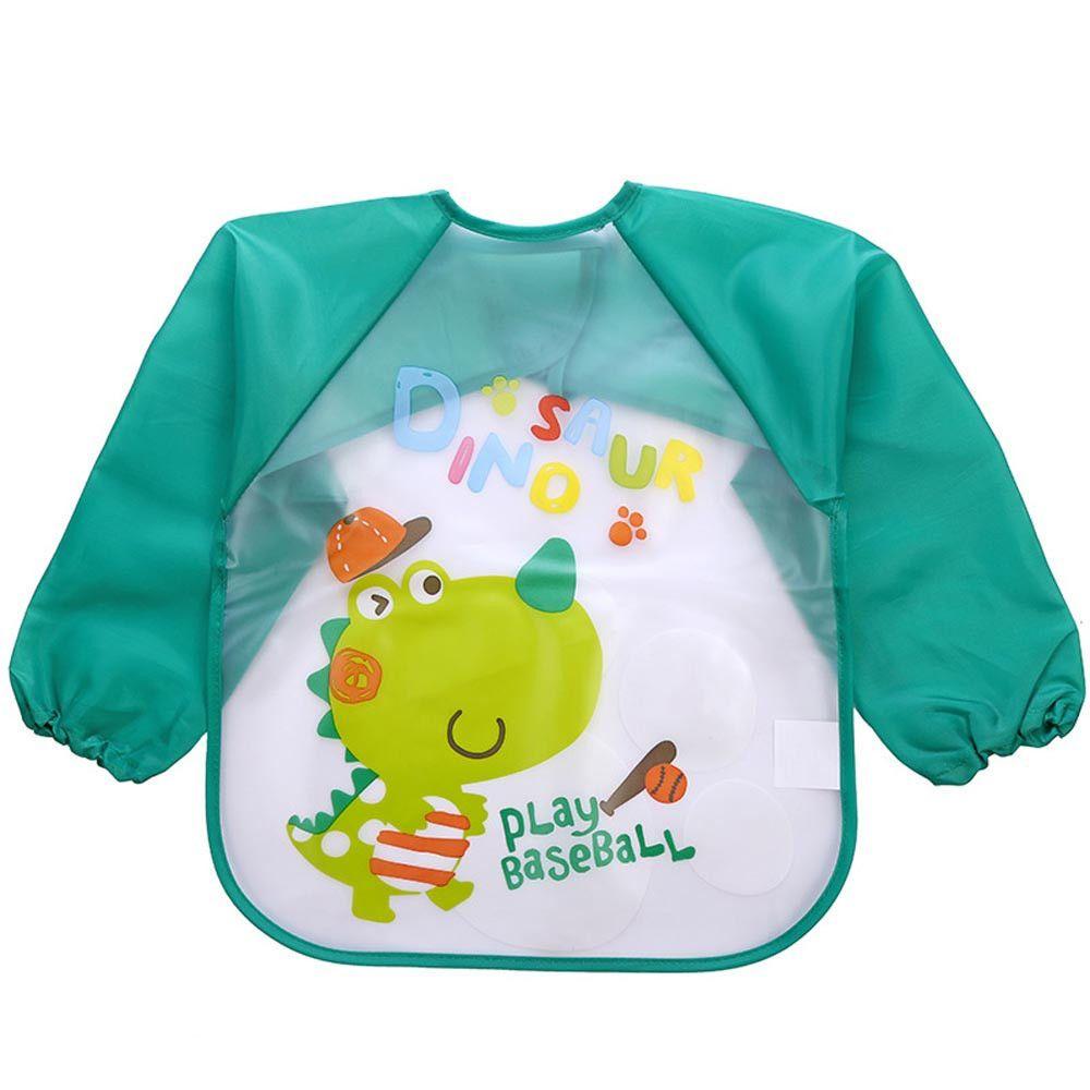 Moda Niños Niñas bebé impermeable de la cubierta para niños baberos lindos delantales impermeables de la saliva de la historieta del babero Burp Alimentación divertido delantales Bandana